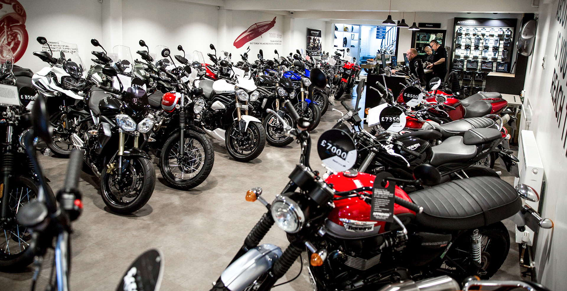 Used bikes in stock
